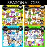 Seasonal GIFs Bundle: Animated Clipart (Creative Clips GIFs)