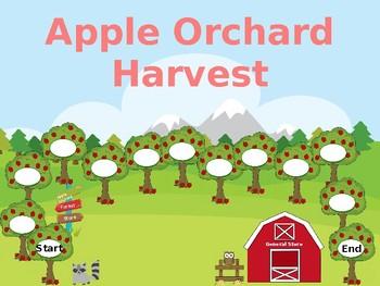 Seasonal Game Boards - Apple Unit