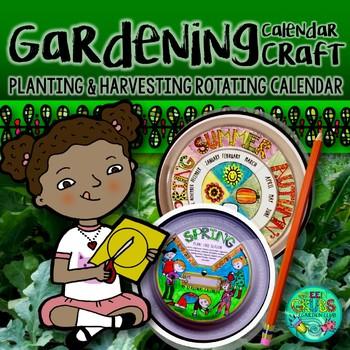 Gardening Calendar Craftivity