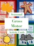 Gross Motor Movement Cards - Autumn/Fall   Winter   Spring
