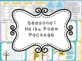 Seasonal Haiku Poem Package