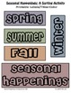 Seasonal Happenings: A Sorting Activity
