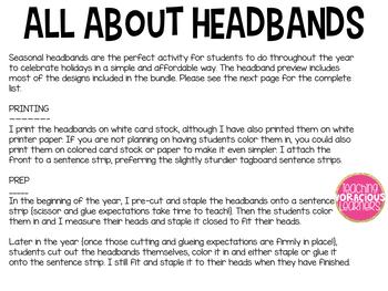 Seasonal Headbands Bundle for the Whole Year