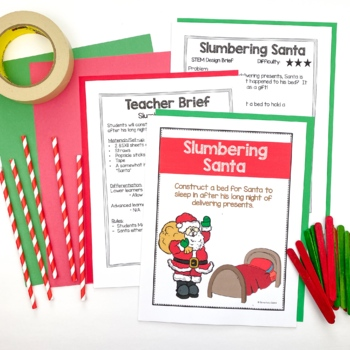 Seasonal Holiday Bundle STEM Engineering Challenges
