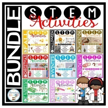 Holiday STEM Activities and Challenges BUNDLE