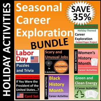 Seasonal Holiday Career Exploration BUNDLE