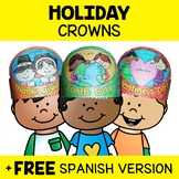 Holiday Crown Craft Templates