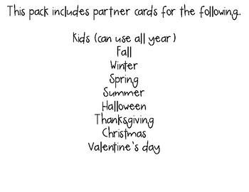 Seasonal & Holiday Partner Cards