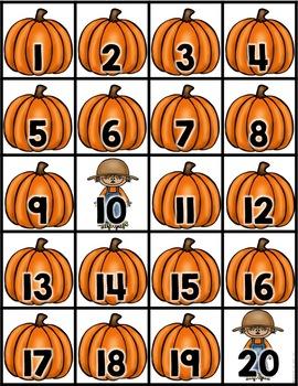 Seasonal Hundreds Chart