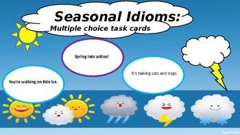 Seasonal Idioms