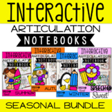 Seasonal Interactive Articulation Notebooks {Growing Bundle}