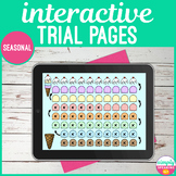 Seasonal Interactive Articulation Trial Pages for Speech, Language & Mixed Group