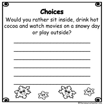 Seasonal Interactive Reading and Writing (with Clip Art Images)