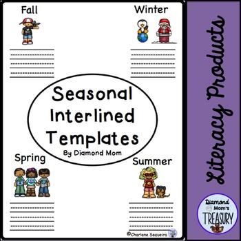 Seasonal Interlined Templates