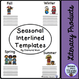 Seasonal Interlined Templates
