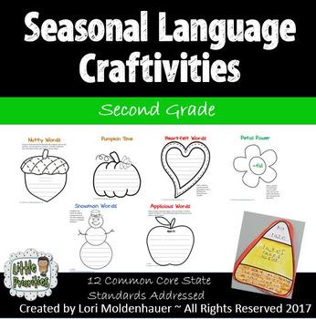 Seasonal Language Craftivites