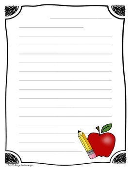 Seasonal Letter Writing Paper