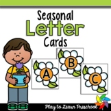 Seasonal Letter (and Number) Cards