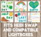 Seasonal Lightbox Inserts - Light Box Designs