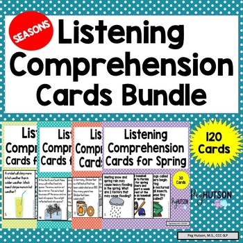 Seasonal Listening Comprehension Bundle
