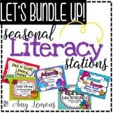 Seasonal Literacy Stations {THE BUNDLE}