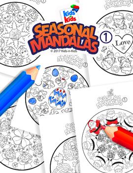 Seasonal Mandalas 1-Kids n Kids