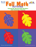 Seasonal Math Activities - Fall