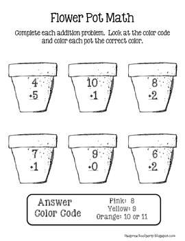 Seasonal Math Addition Worksheets