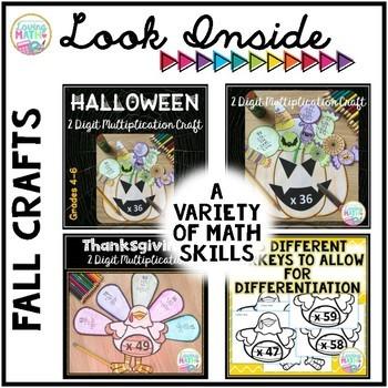 Seasonal Math Craftivities BUNDLE