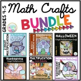 Seasonal Math Craftivities BUNDLE