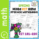 Fall Winter Spring Math Worksheets for RIT Band 181-220 Test Prep or Practice