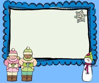 Seasonal Morning Message Templates for SMART Board