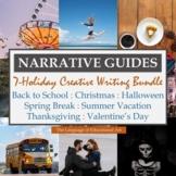 Seasonal Narrative Guides: 7-Holiday Creative Writing Bundle
