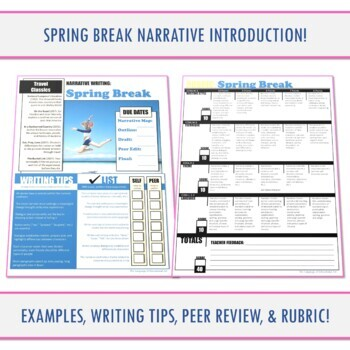 Seasonal Narrative Guide: Spring Break!