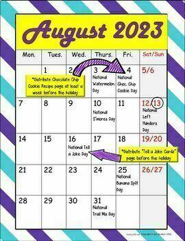 Seasonal National Holiday MEGA BUNDLE (August, September & October Bundles)