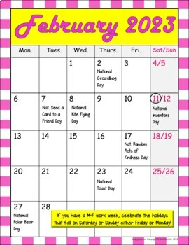 Seasonal National Holiday MEGA BUNDLE (February, March & April Bundles)
