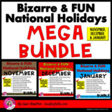 Bizarre and FUN National Holidays MEGA BUNDLE (November, D