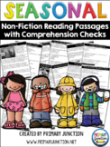 Seasonal Non-Fiction Reading Passages with Comprehension C