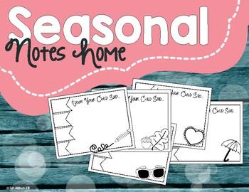 Seasonal Notes Home