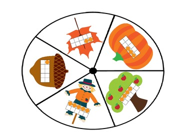 Seasonal Number Activities for Fall