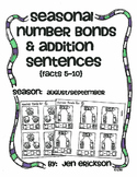 Seasonal Number Bonds and Addition Sentences:  AUGUST/SEPTEMBER
