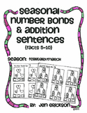 Seasonal Number Bonds and Addition Sentences: FEBRUARY/MARCH