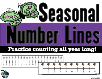 Seasonal Number Lines