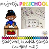 Seasonal Number Sense Counting Mats