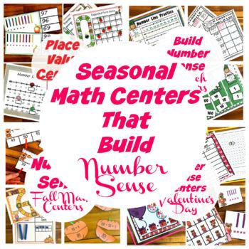 Seasonal Number Sense Practice