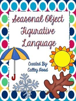 Seasonal Object Figurative Language