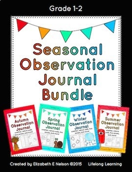 Seasonal Observation Journal Bundle