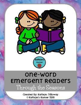 Seasonal One-Word Emergent Readers
