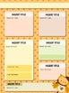 Seasonal Owl Themed Editable Parent Newsletter PowerPoint Templates