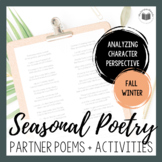 Seasonal Partner Poetry {FALL & WINTER BUNDLE}